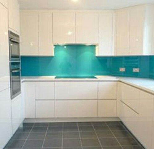 Bispoke Glass Kitchen Splashbacks Available Is A Vast Variety Of Colours  ... #homeimprovement #homedecor #kitchen #splashback