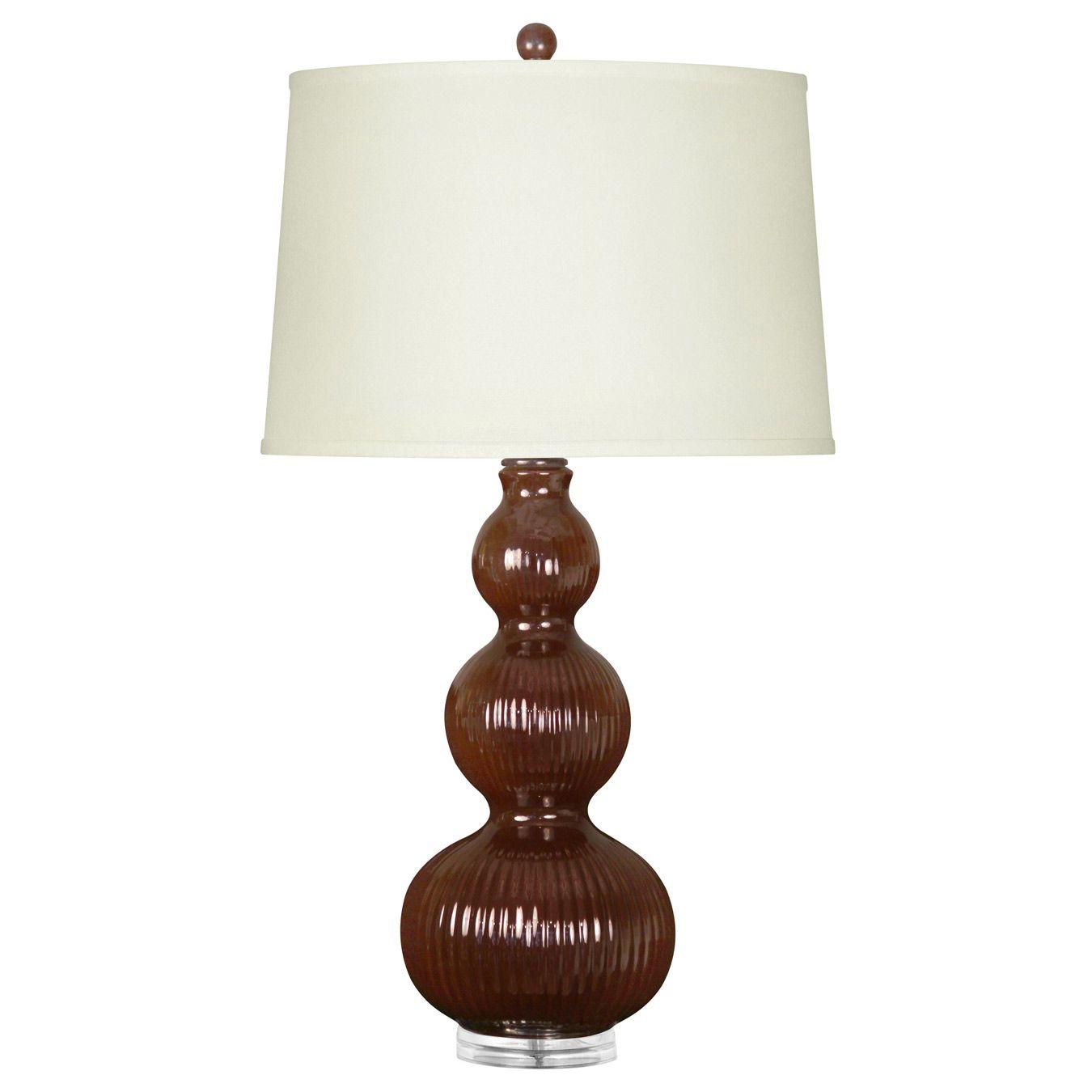 Bungalow 5 Flora Dark Brown Table Lamp Base B5flo800204 Brown Table Lamps Table Lamp Base Lamp Bases