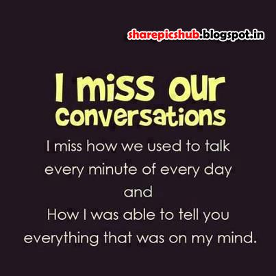 Very Emotional Missing You Quotes With Image I Miss Our