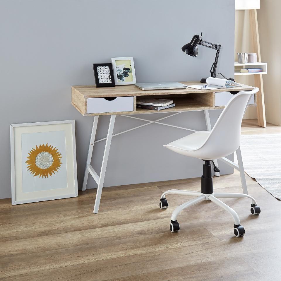 Sedia da ufficio Blokhus (bianca)   Blokhus