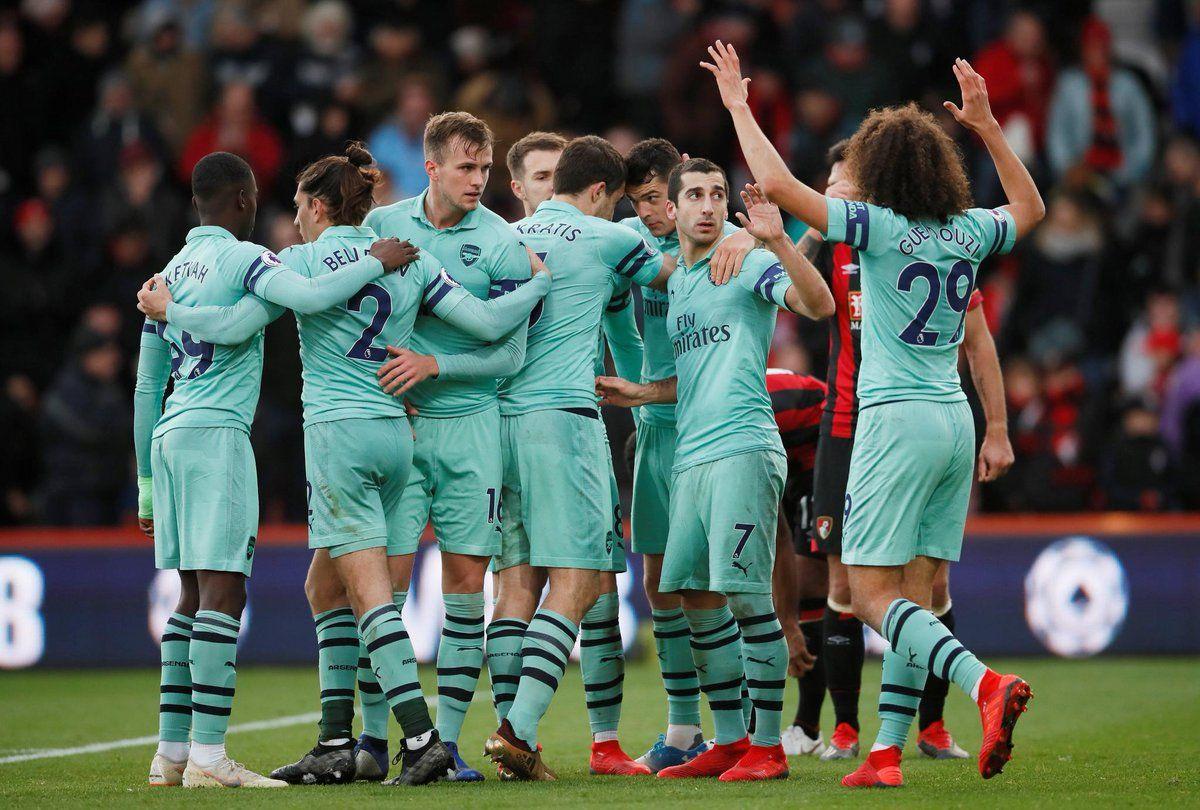 Bournemouth 1 - 2 Arsenal