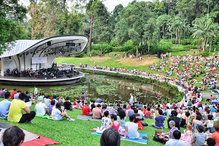 Free Concert in Botanic Gardens. Since July 2015, The Singapore ...