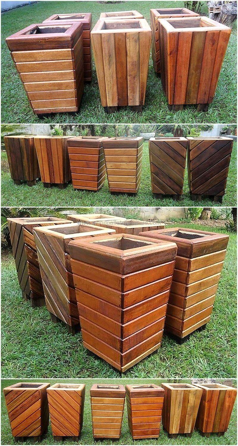 Diy Pallet And Wood Planter Box Ideas