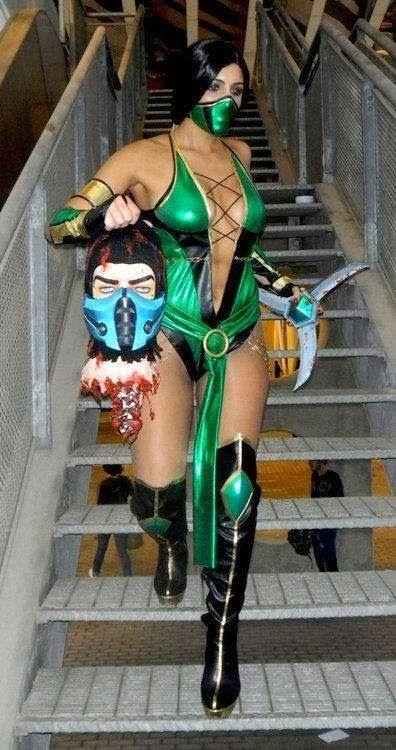 Jade Mortal Kombat Cosplay Cosplay Pinterest