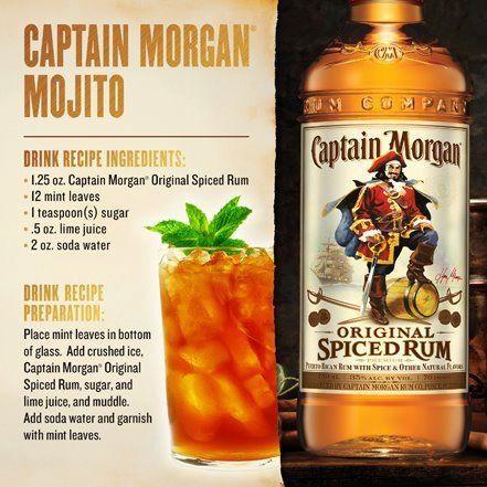 Capt. Morgan Mojito Tolle Geschenke mit Captain Morgan gibt es bei http://www.dona-glassy.de/Themengeschenksets/Geschenksets-Captain-Morgan:::24_2.html