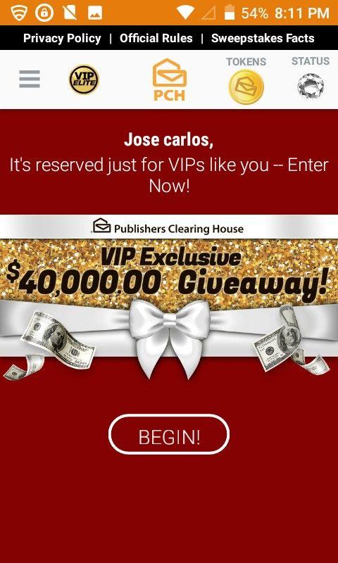I jcg claim pch vip elite $40,000 00 giveaway! | VIP ELITE in 2019