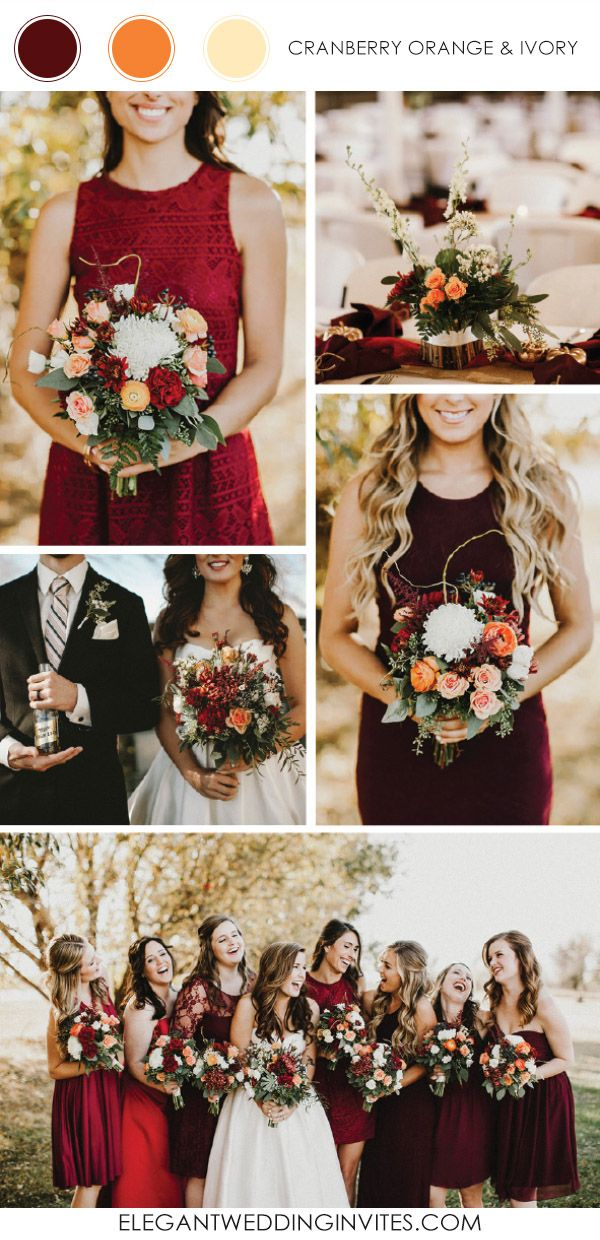 Top 10 wedding color combination ideas for 2017 trends for Best wedding color combinations