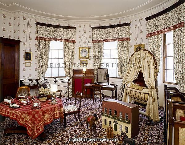 Inside Osborne House Nursery Bedroom Osborne House J070025 Victorian England Collection