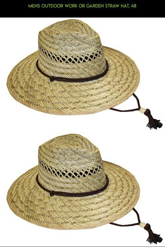 Mens Outdoor Work or Garden Straw Hat 519b0ce5f0d