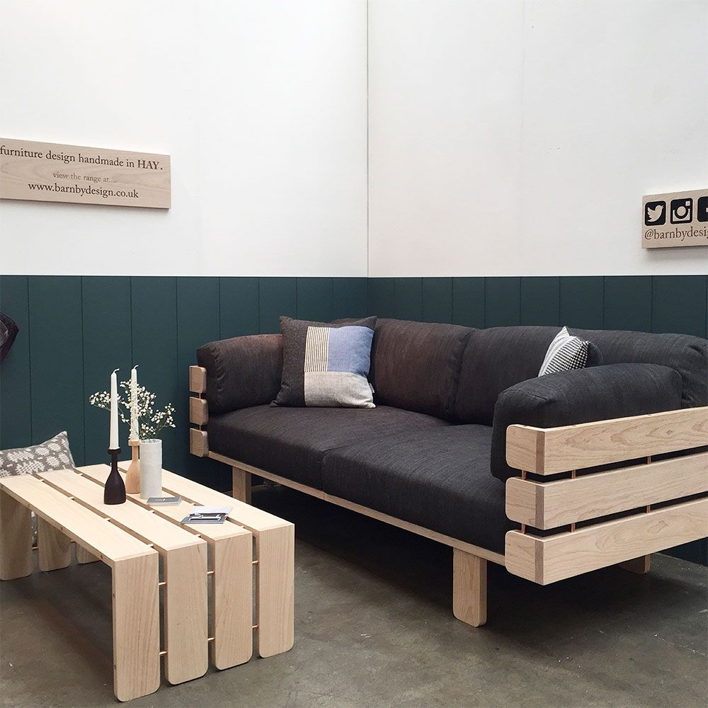 Barnby Design's Hedges Sofa and coffee table