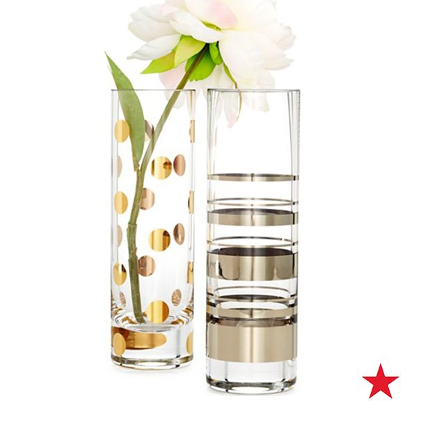 Kate Spade New York Hampton Street And Pearl Place Cylinder Bud Vases Bowls Vases For The Home Macy S Bud Vases Vase The Hamptons