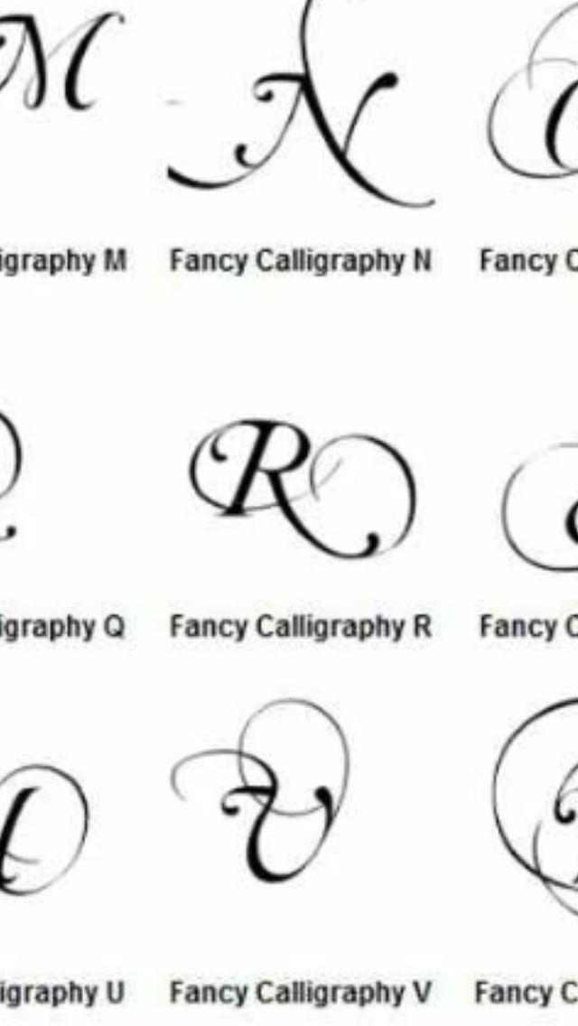 Letter R | Tattoos :))) | Pinterest | Tattoo