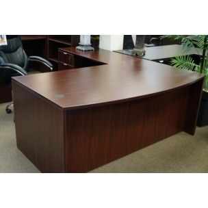 Ofi Series Bow Front L Shaped Desk Includes One Box File On The Return Free Embly With Purchase