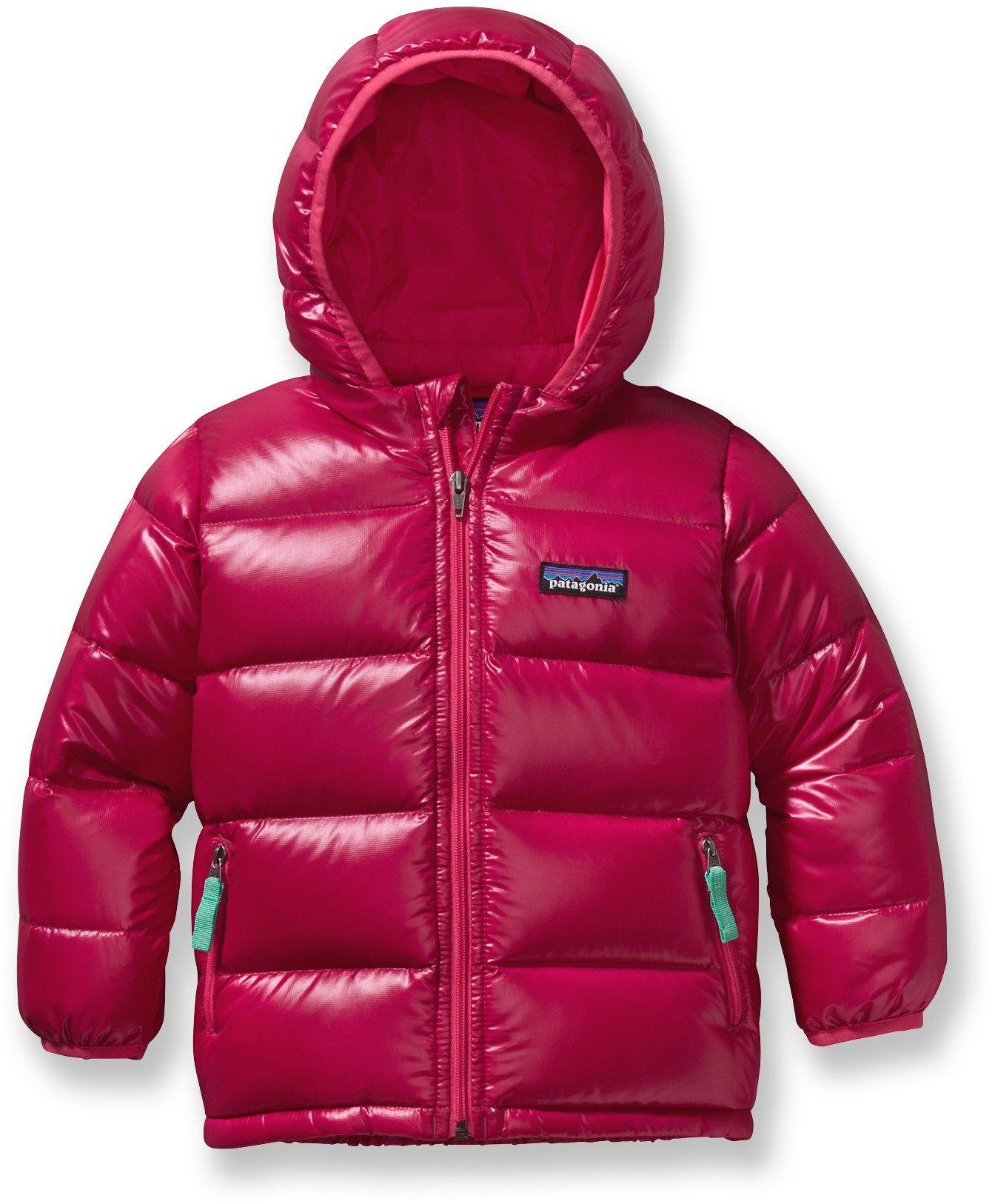 Patagonia Hi Loft Down Sweater Hoody Toddler Girls