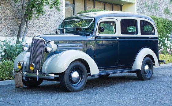 1938 Chevrolet Carryall Suburban Classic Cars Trucks Chevrolet
