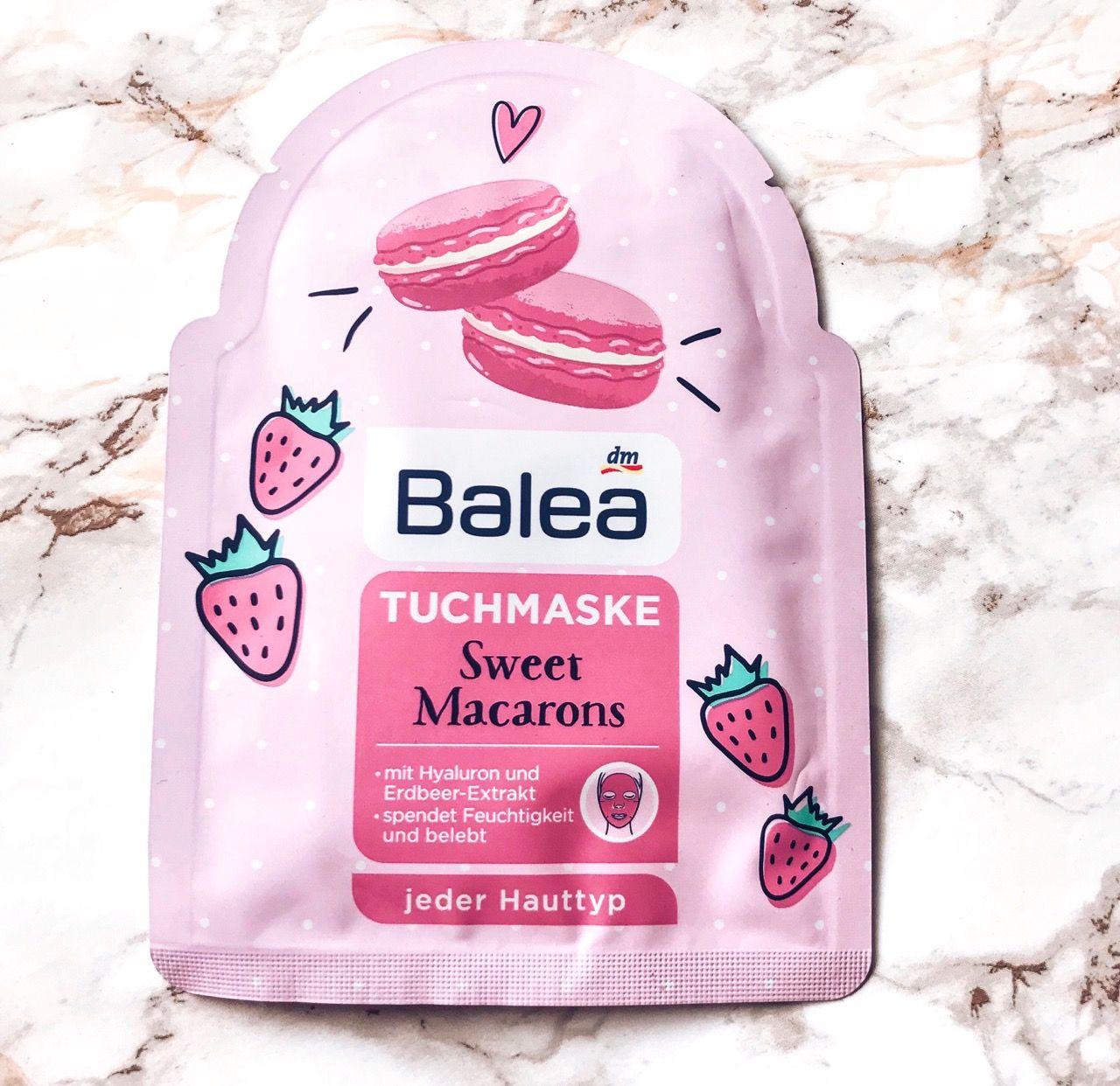 Ger Ausprobiert Balea Tuchmasken Happy Macarons Und Sweet