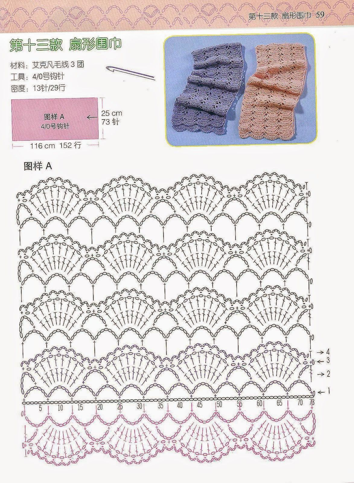 Butterfly Creaciones: accesorios para el cuello | Crochet ...