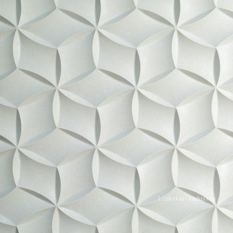 Decorative Tile Panels 3D Interior Feature Stone Art Covering Panels Will Enhance The