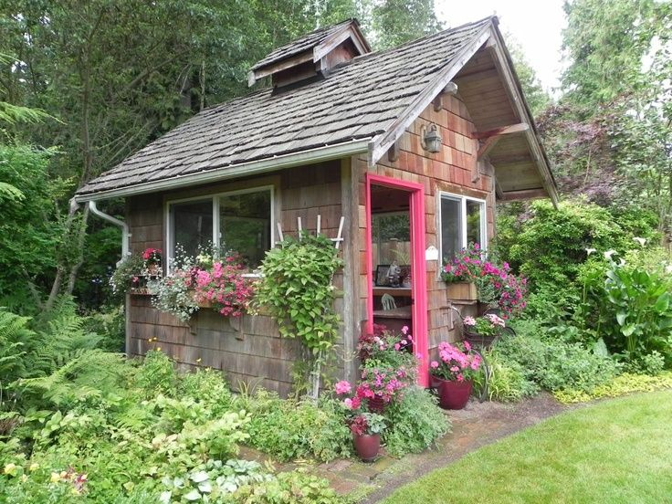 Interesting Admired Cottage Style Garden Sheds