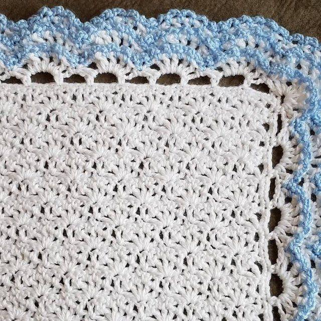 Crochet Baby PATTERN, Elise Baby Blanket Pattern 146, Crochet ...