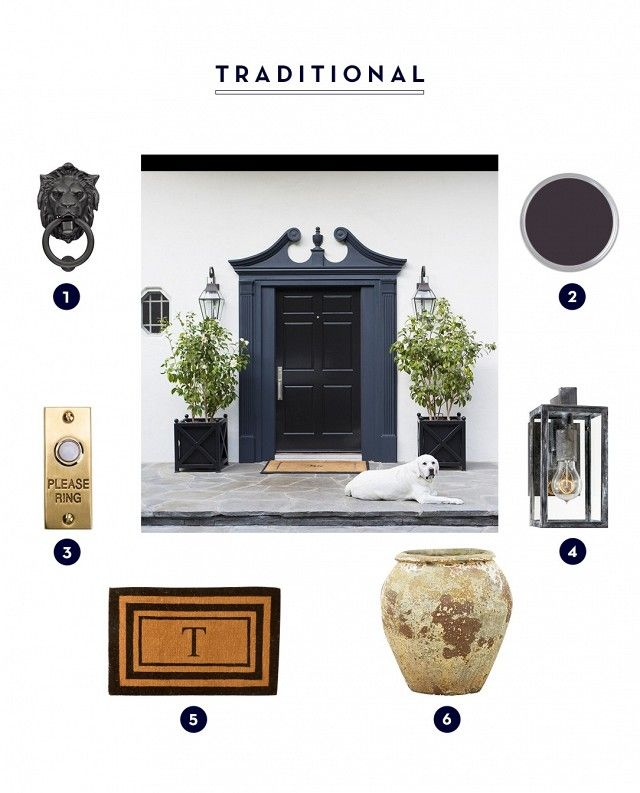Micro Makeover: 3 Front-Door Makeovers That\'ll Give Your House Life ...