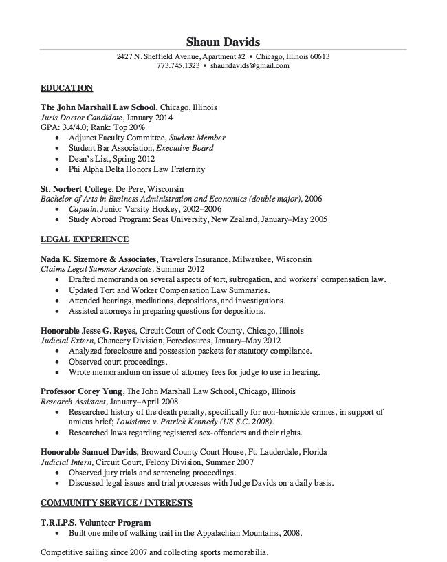 Judicial Intern Resume Sample Resumesdesign Sample Resume Good Essay Cv Writing Service