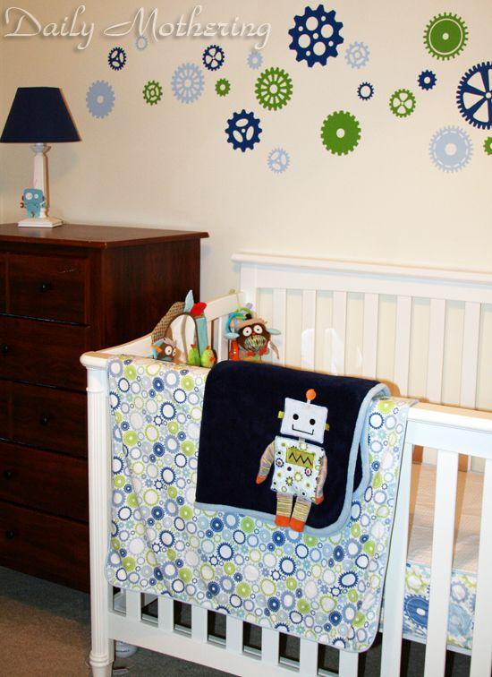 Robot Nursery Theme Review