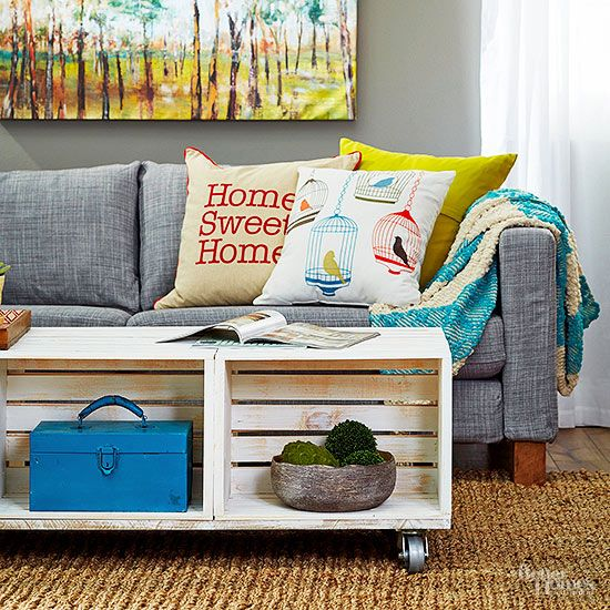 Amp Up The Storage In Your Home With New And Creative Ways To Use (and Reuse)  Wood Crates. Whether Youu0027re Making A DIY Coffee Table Or A Homemade Wine ...