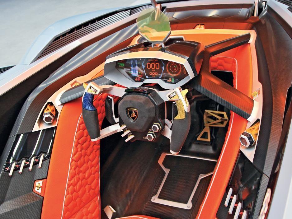 Lamborghini Egoista Cockpit Auto Bild Idee