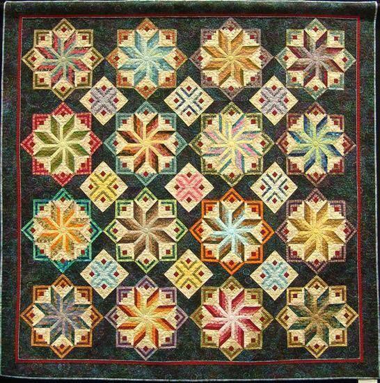 Stunning Kaleidoscope Quilt