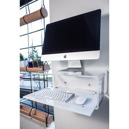 acrylic console for imac 21 - Computertisch Fr Imac 27