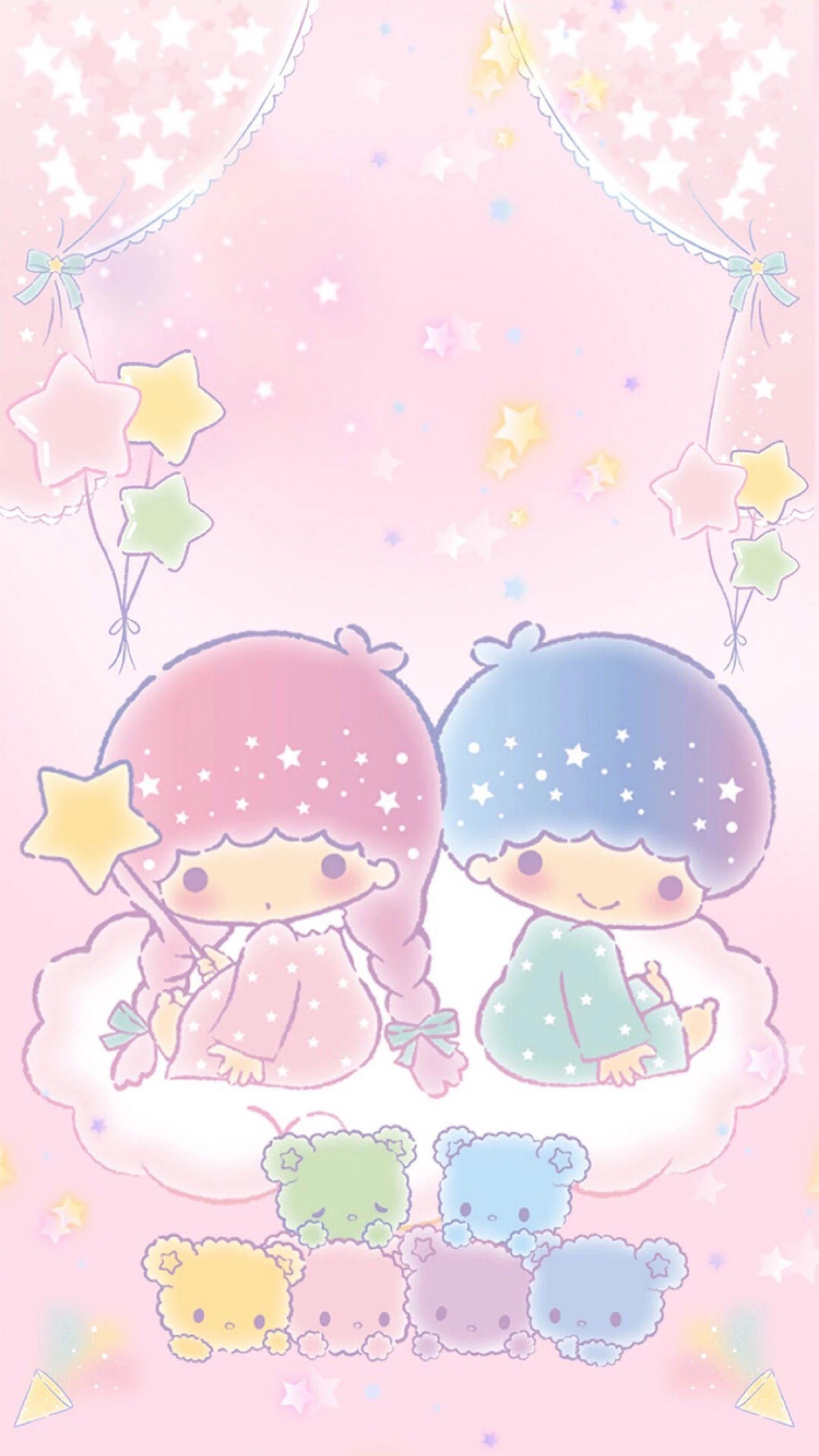 Little Twin Stars キキララ 壁紙 リトルツインスターズ 夢かわいい