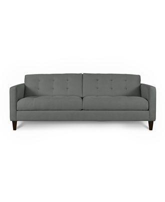 Morgan Sofa In Charcoal Microfiber From Macys 995