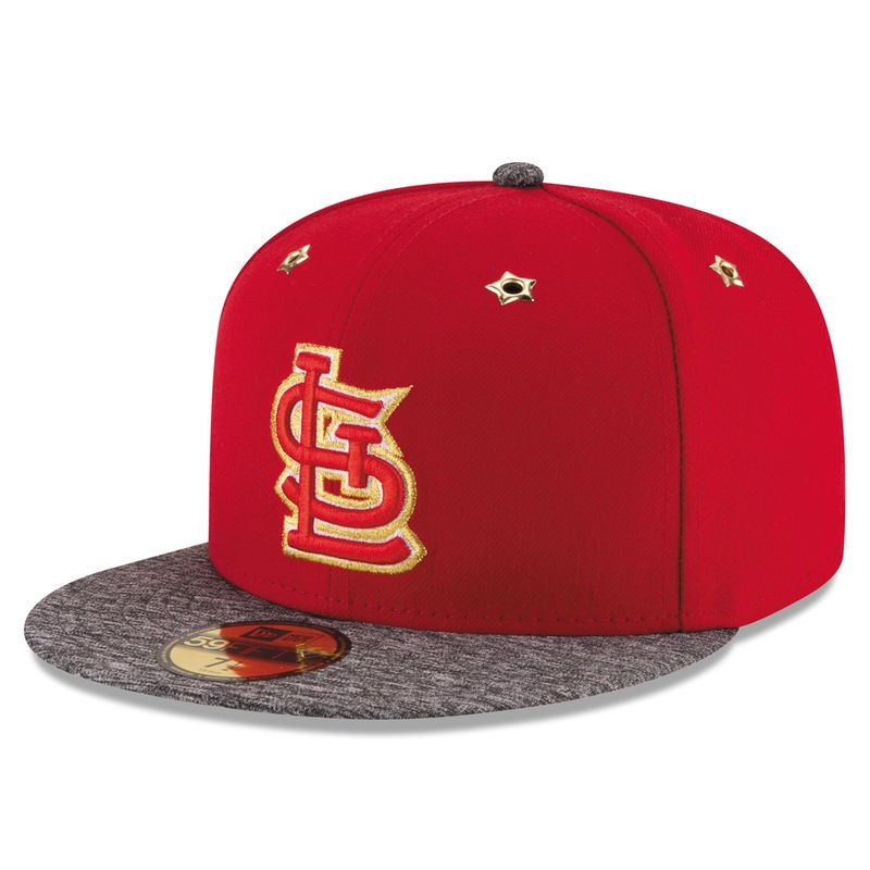the latest 64bb0 ff9c5 St. Louis Cardinals New Era 2016 All-Star Game Authentic Collection 59FIFTY  Fitted Hat - Red
