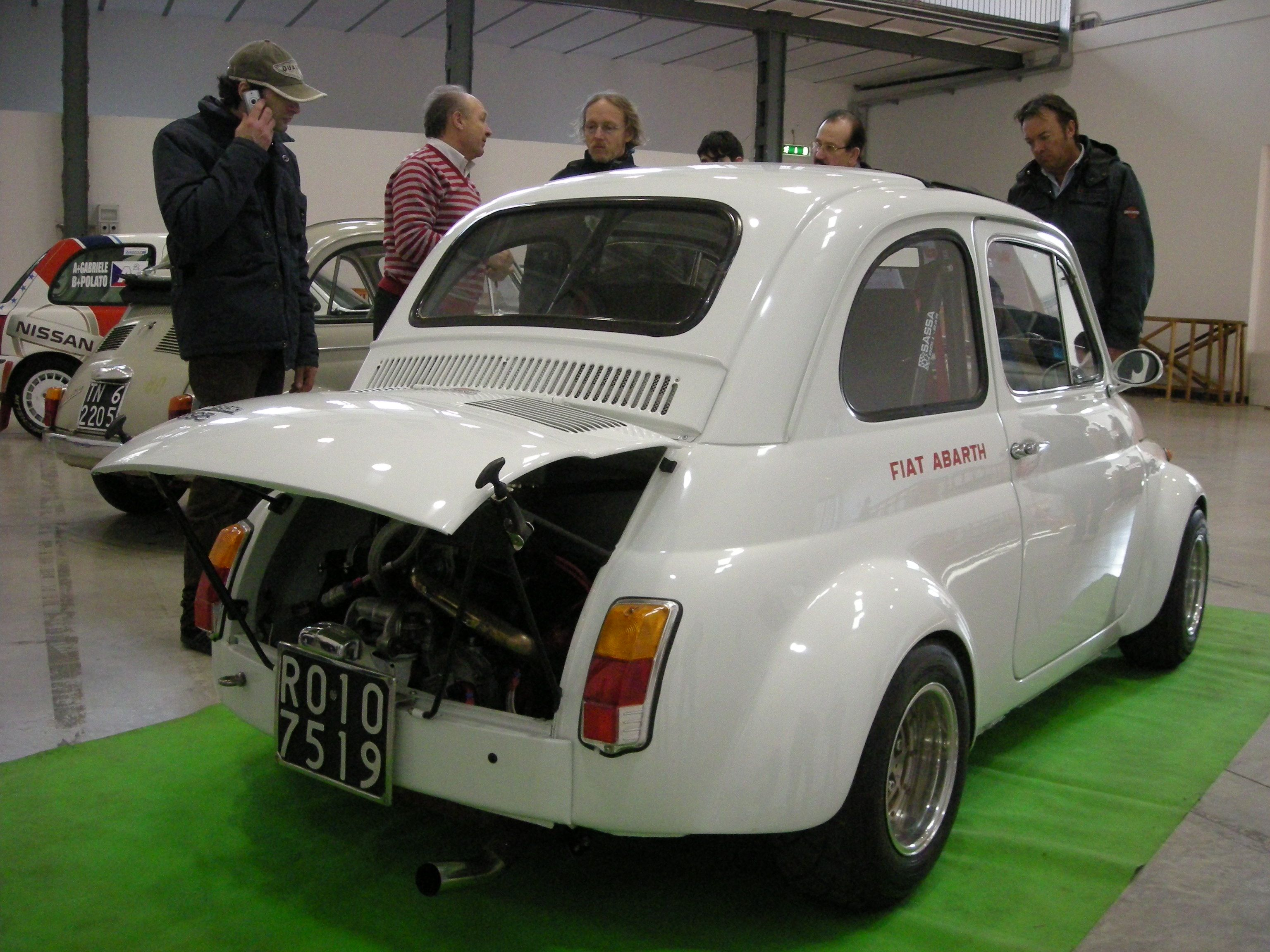 1970 Fiat 500 Abarth -- Abarth is Fiat's performance division. Jeremy  Clarkson once described
