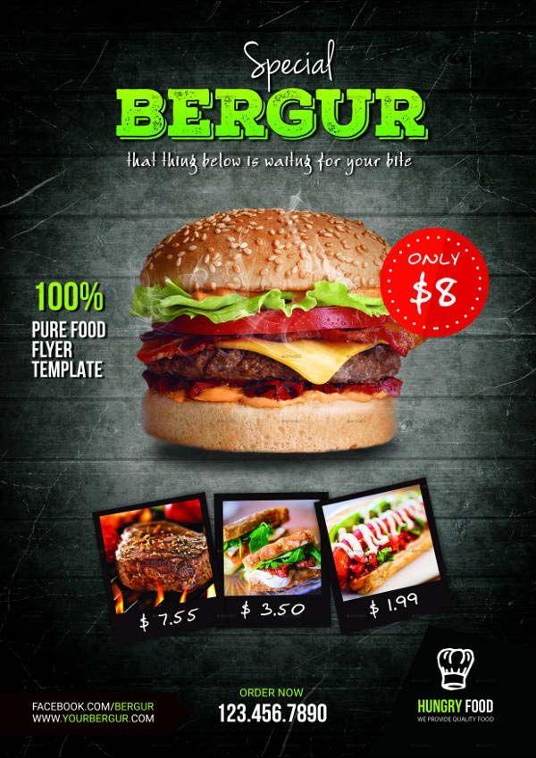 20+ Free \ Premium Burger Flyer Templates - PSD, Vector EPS, JPG - food flyer template