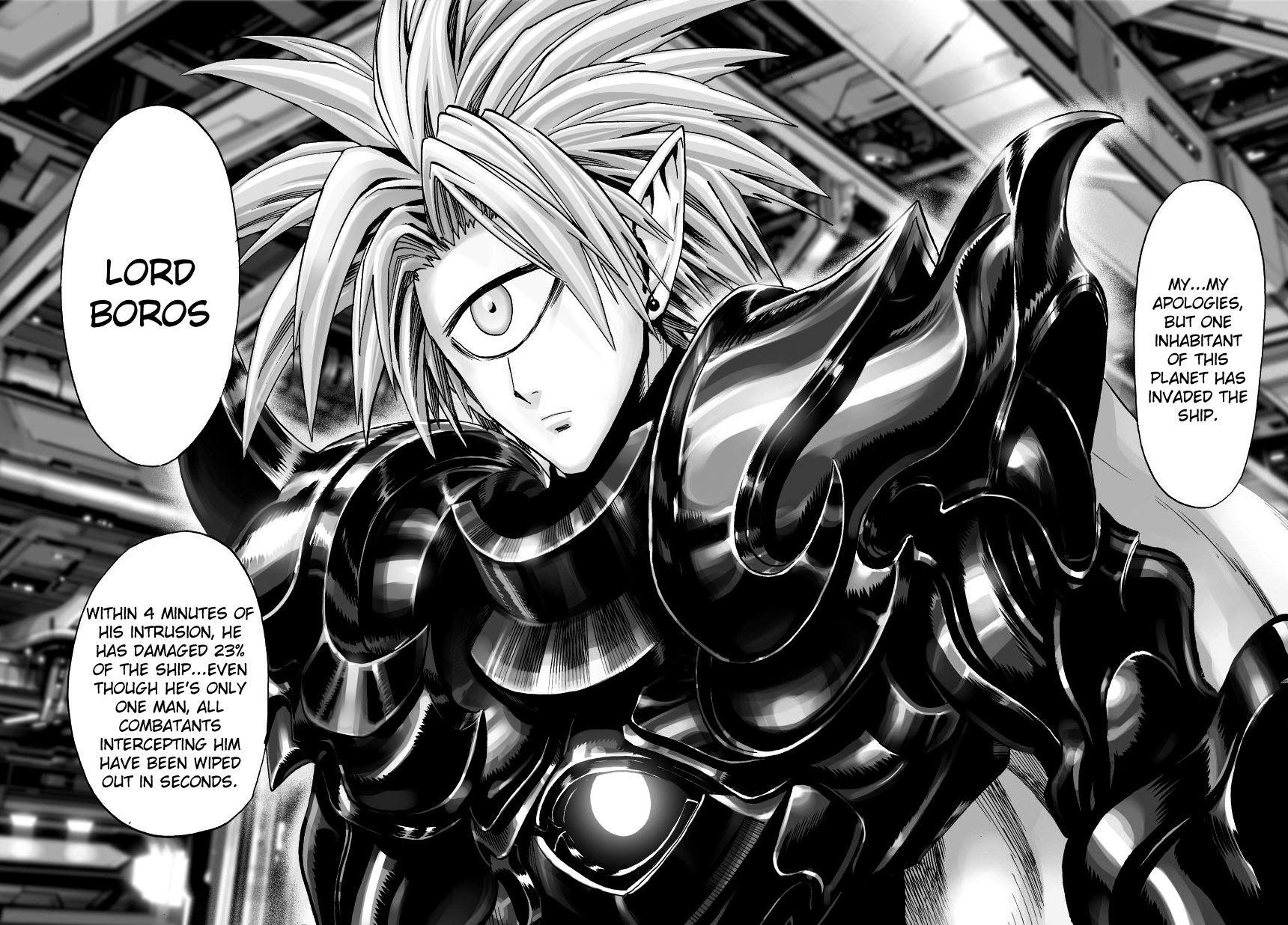 OnePunch Man Lord Boros manga 1.jpg Tela de bloqueio e