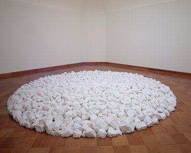 Richard Long. Chalk
