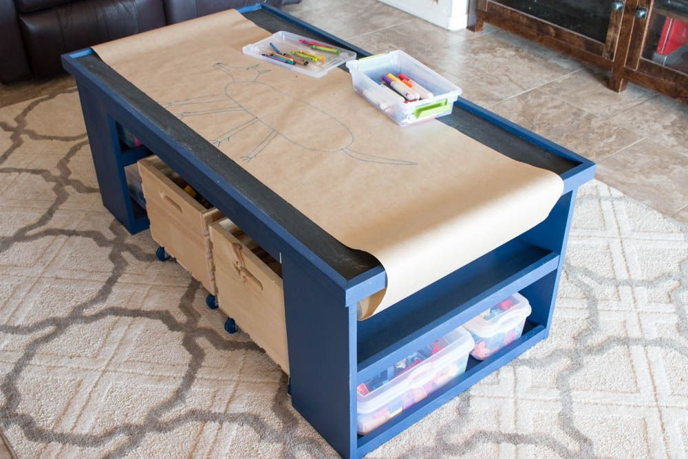 Free Plans   Build A DIY 4 In 1 Activity Table   Addicted 2 DIY