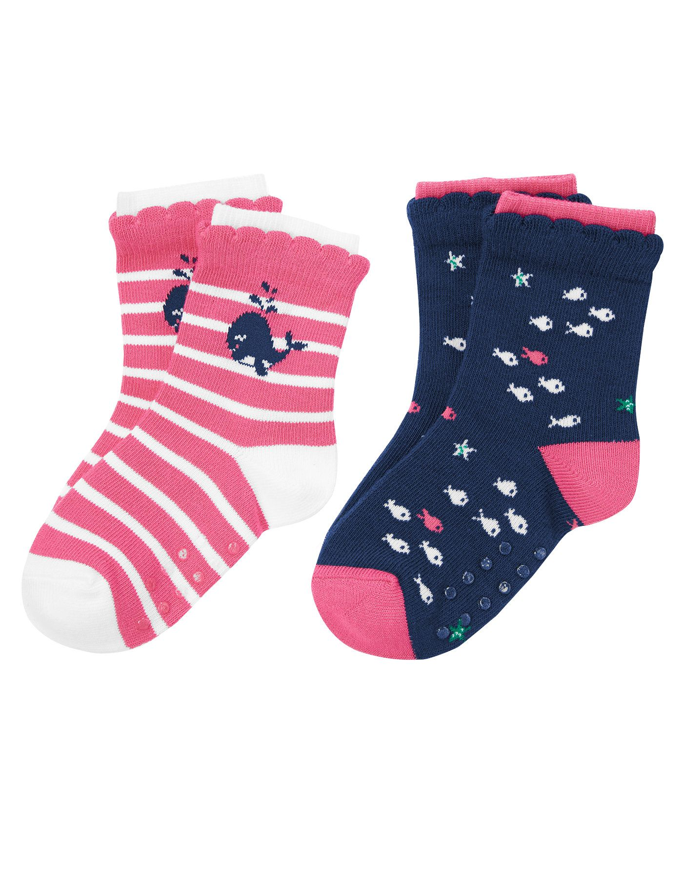 Finish her spring looks with cute and coordinating nautical socks