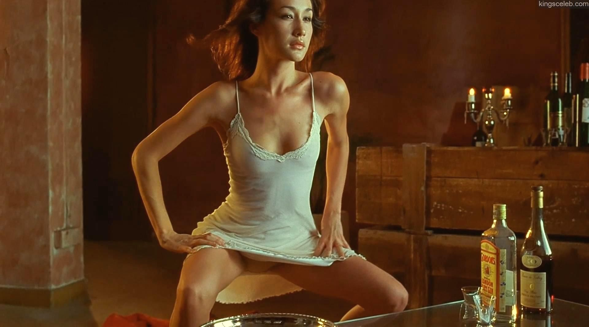 Maggie Q Palpable Pussy