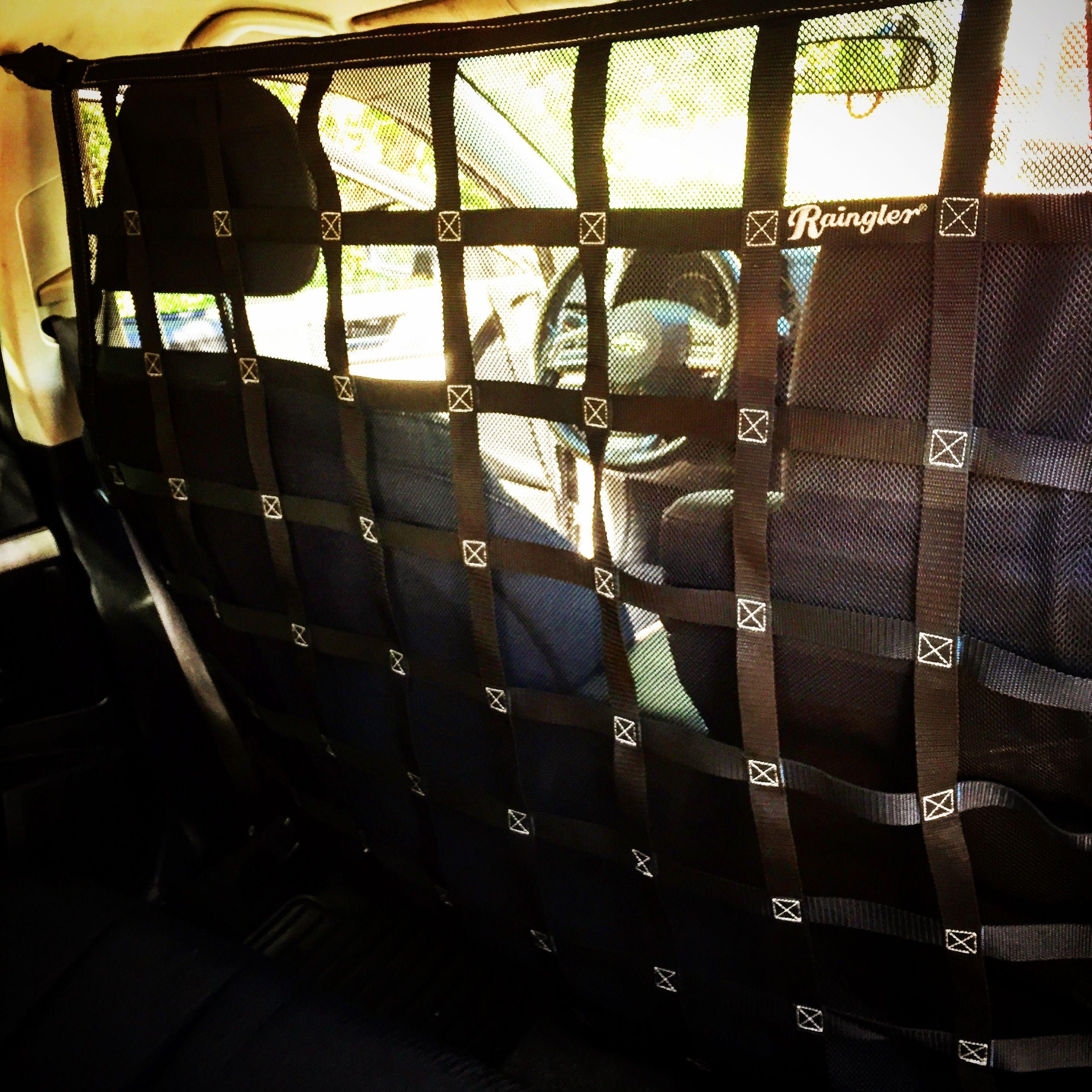 One of the behind seat barriers for #subaru #subaruoutbacK #subarucrosstrek #subaruimpreza #subarugear #raingler #CARGONETS #subarulove #dogsandcars  #subaruporn #subaruoffroad #dogsandcars #handmadeisbetter #madeintheusa #madeinamerica #madeincolorado #builttolast by #RAINGLERNETS
