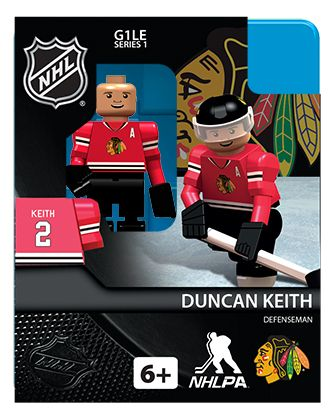 Duncan Keith | NHL might have to let jersey get some legos now ...