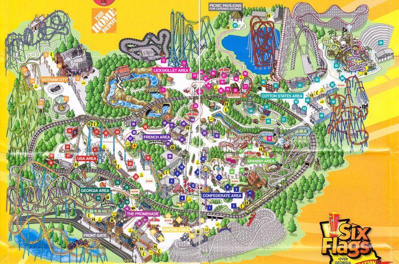 Six Flags Over Ga