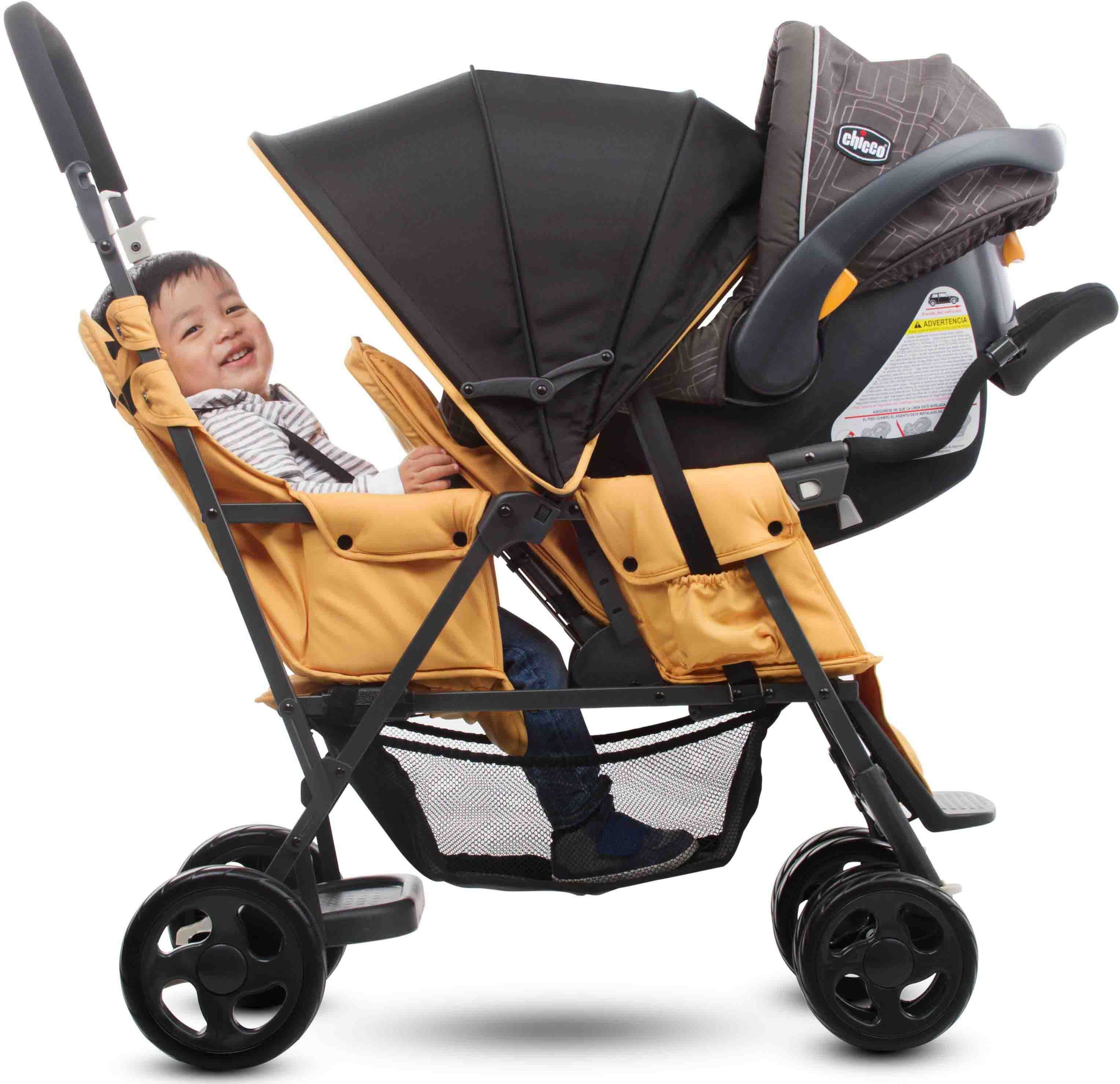 Caboose Sit and Stand Stroller Double strollers, Baby