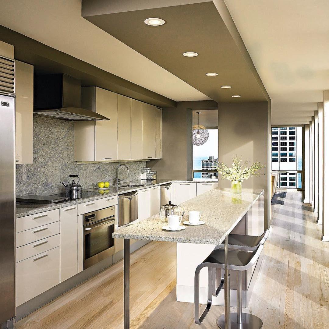 Cozinha Gourmet Com Design Contempor Neo A Iluminacao Da Bancada
