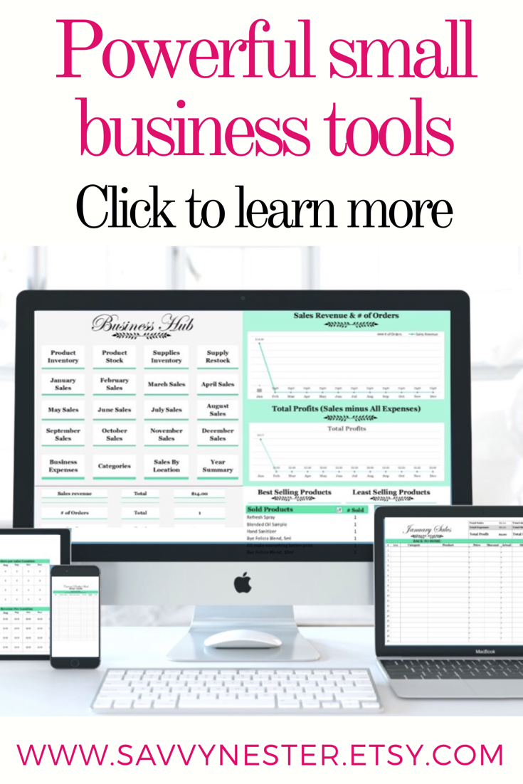 small business tracker is a powerful and easy to use excel