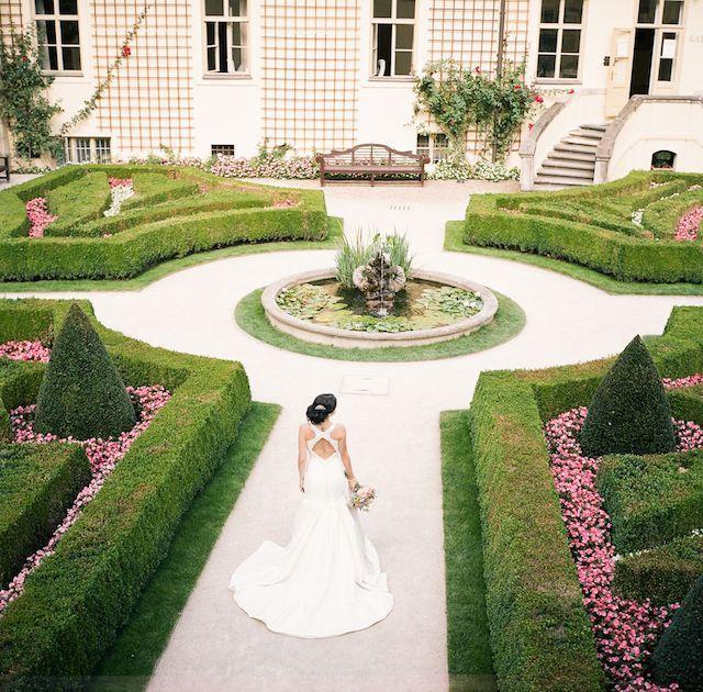 30 Unique And Breathtaking Wedding Backdrop Ideas: Garden Wedding, Garden Wedding
