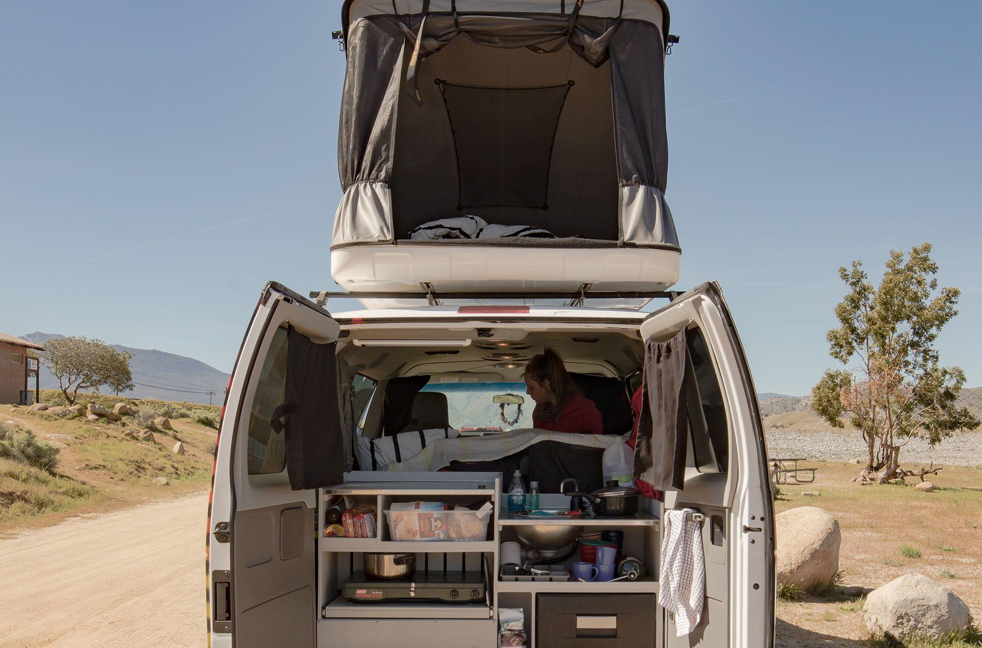 Mavericks Campervan 4 Berth Campervan Rental 4 berth