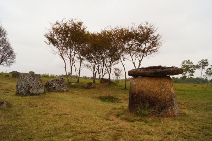 Plain of Jars in Phonsavan, Laos